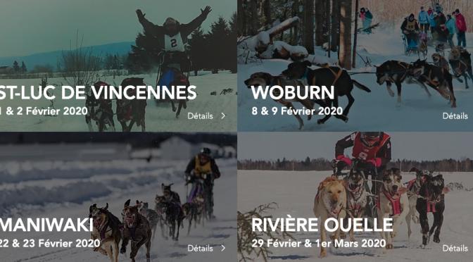 Calendrier 2020 provisoire du CACQ (Club d'attelage de chiens du Québec)